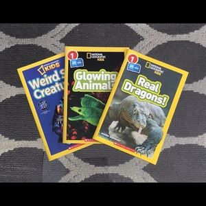 ✨ NEW ✨ 3 National Geographic Kids books!